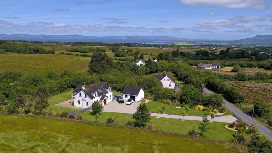 Aerial Drone Photos for AirBNB and Estate Agents